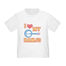 I Love My Banjo T