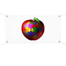Puzzle Apple Banner