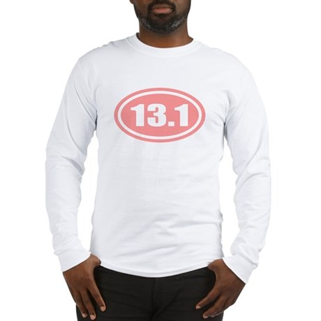 Pink 13.1 Half Marathon Long Sleeve T-Shirt
