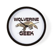 Wolf Geek Wall Clock