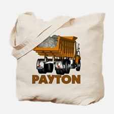 Payton Construction Dumptruck Tote Bag