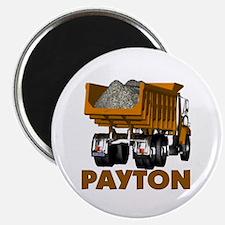 Payton Construction Dumptruck Magnet