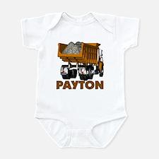 Payton Construction Dumptruck Infant Bodysuit