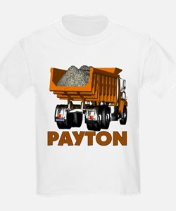 Payton Construction Dumptruck T-Shirt