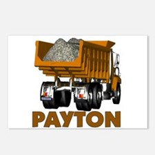 Payton Construction Dumptruck Postcards (Package o