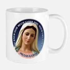 Our Lady of Medjugorje Small Small Mug