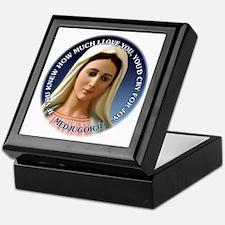Our Lady of Medjugorje Keepsake Box