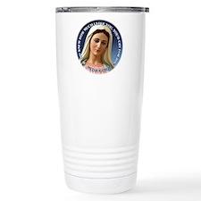 Our Lady of Medjugorje Travel Mug