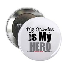 "BrainCancerHero Grandpa 2.25"" Button"