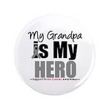 "BrainCancerHero Grandpa 3.5"" Button"