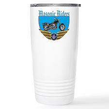 Masonic Bikers w/wings Travel Mug