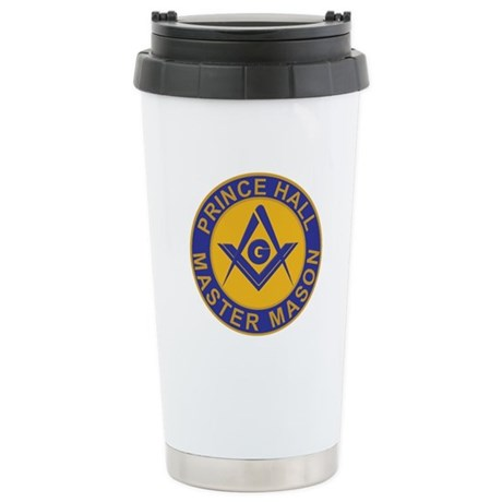 Prince Hall Master Masons Stainless Steel Travel M