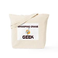 Whooping Crane Geek Tote Bag