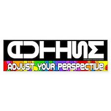 Adjust Your Perspective Bumper Sticker (50 pk)