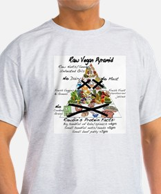Raw Vegan Pyramid T-Shirt