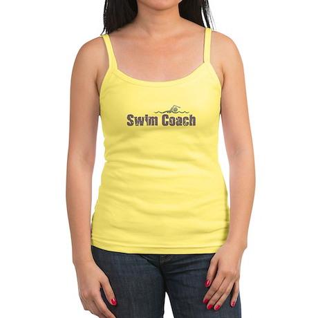 SWIM COACH Jr. Spaghetti Tank