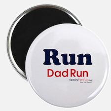 "Run Dad Run 2.25"" Magnet (10 pack)"