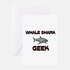 Whale Shark Geek Greeting Cards (Pk of 10)