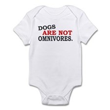 Dogs are not Infant Bodysuit