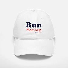 Run Mom Run Baseball Baseball Cap