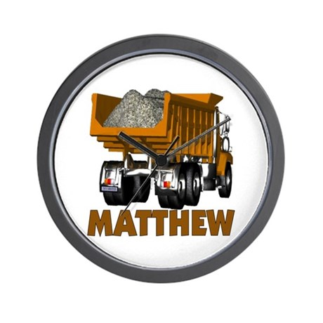 Matthew Dumptruck Wall Clock