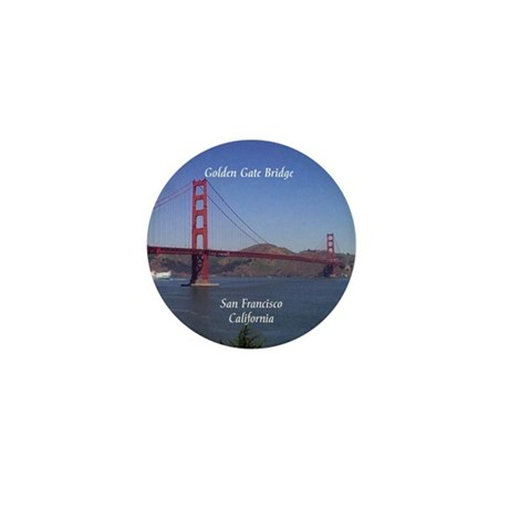 Golden Gate Bridge Mini Button (10 pack)