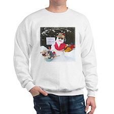 Funny Think snow Sweatshirt