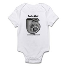 Balls Out Turbo - Racing Infant Bodysuit