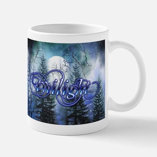 Moonlight Twilight Forest Mug