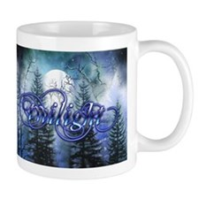Moonlight Twilight Forest Small Mug