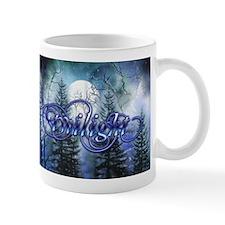 Moonlight Twilight Forest Small Mugs