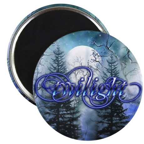 "Moonlight Twilight Forest 2.25"" Magnet (100 pack)"
