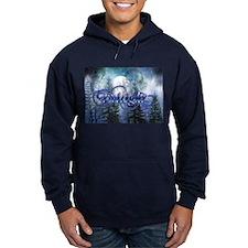 Moonlight Twilight Forest Hoodie