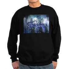 Moonlight Twilight Forest Sweatshirt