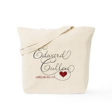 Edward Cullen Breaking Hearts Tote Bag