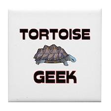 Tortoise Geek Tile Coaster