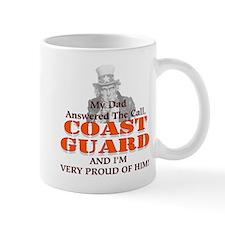 My Coast Guard Dad Answered Small Mug