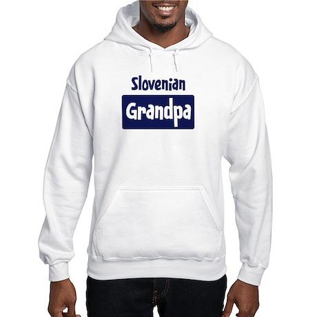 Slovenian grandpa Hooded Sweatshirt