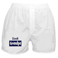 Slovak grandpa Boxer Shorts
