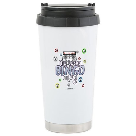 My Lucky Bingo Stainless Steel Travel Mug
