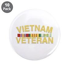 Vietnam Veteran Button (Pack of 10)