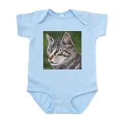 Tabby Cat Infant Bodysuit