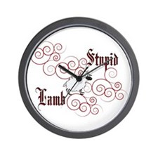 Twilight Stupid Lamb Wall Clock