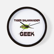 Tiger Salamander Geek Wall Clock