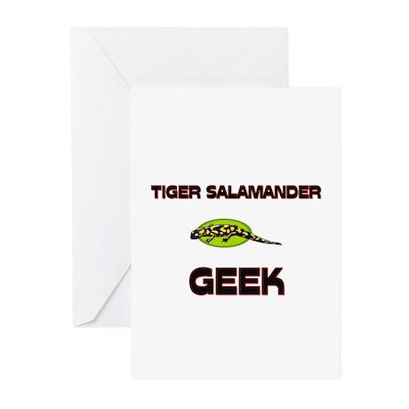 Tiger Salamander Geek Greeting Cards (Pk of 10)