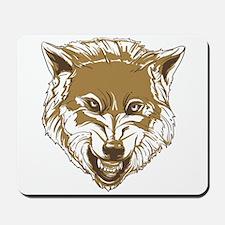 Wolf head Mousepad