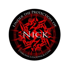 """Chronicles of Nick 3.5"""" Button (100 pack)"""