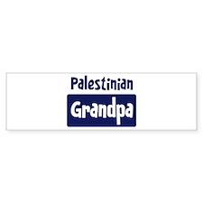 Palestinian grandpa Bumper Bumper Sticker