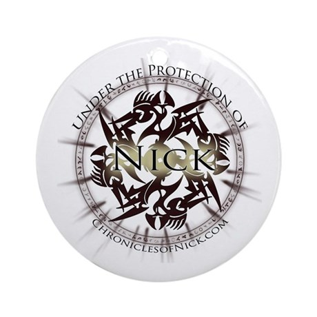 Chronicles of Nick Ornament (Round)