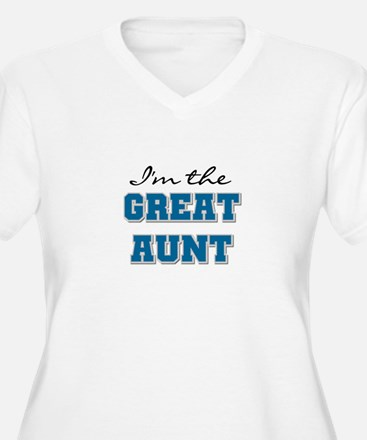Blue Great Aunt T-Shirt